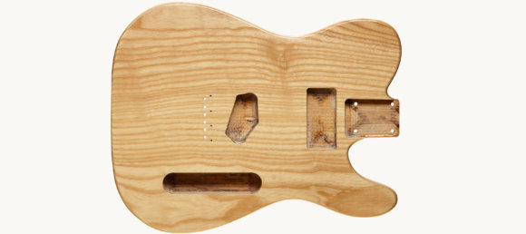 Дека для електрогітари Woodstock Tele Ash Body NAT