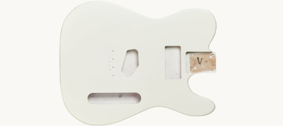 Дека для електрогітари Woodstock Tele Ash Body WH
