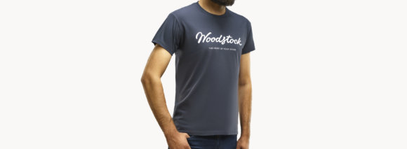 Футболка Woodstock Dark Grey